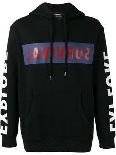 survival print hoodie Markus Lupfer