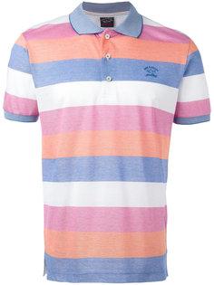 полосатая футболка-поло Paul & Shark