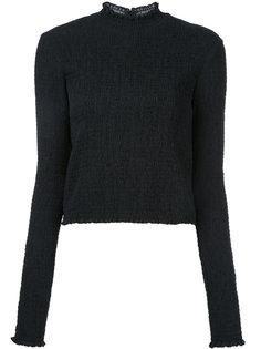 блузка с присборенной отделкой Irene
