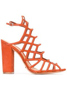 босоножки на каблуках с сетчатой отделкой Schutz
