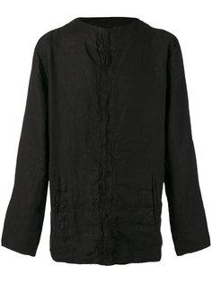 collarless shirt Andrea Yaaqov
