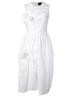 платье с узлом Sangallo Simone Rocha