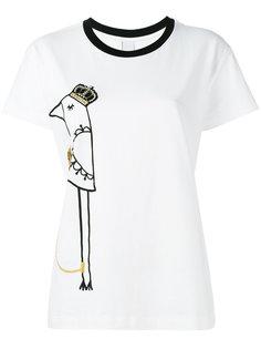 футболка с принтом птицы Mother Of Pearl