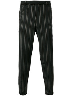 pinstriped trousers The Kooples