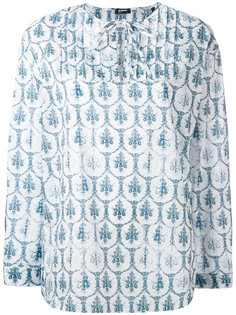 printed top  Jil Sander Navy