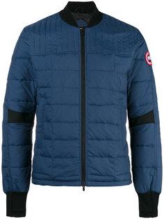 стеганая куртка-бомбер Canada Goose