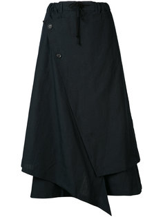асимметричная юбка Yohji Yamamoto
