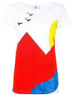 футболка дизайна колор-блок Rossignol