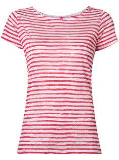 printed stripe T-shirt  Majestic Filatures