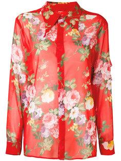 рубашка с цветочным принтом Brognano