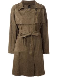 belted trench coat  Giorgio Brato