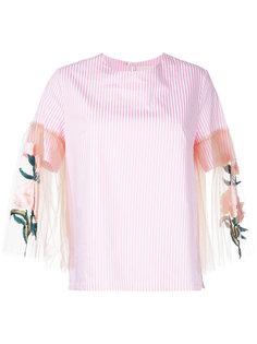 блузка с прозрачными рукавами Elaidi