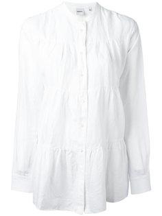 блузка с присборенной отделкой на пуговицах Aspesi
