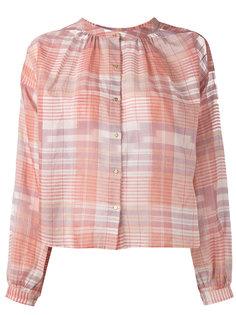 checked shirt  Ulla Johnson