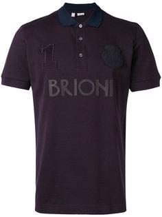 футболка-поло с логотипом  Brioni