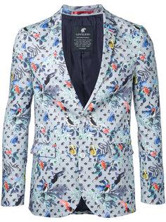 пиджак с принтом птиц Loveless
