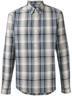 рубашка в клетку на пуговицах A.P.C.