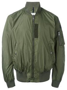 куртка-бомбер в утилитарном стиле Moncler