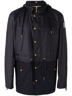 куртка с капюшоном  и заплаткой с логотипом Moncler Gamme Bleu