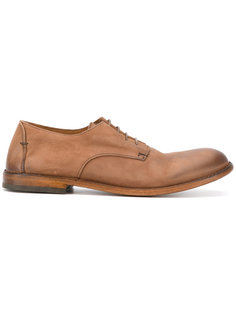 distressed derby shoes Pantanetti