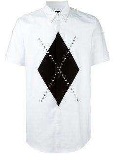 рубашка с заклепками Dsquared2