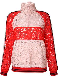 куртка в стиле колор-блок Goen.J