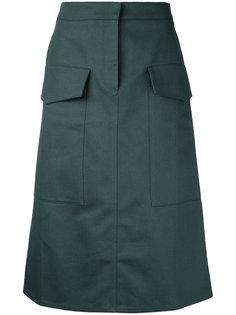 юбка с накладными карманами Studio Nicholson