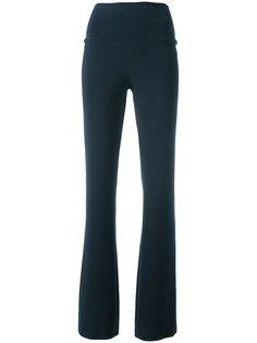 свободные брюки Norma Kamali