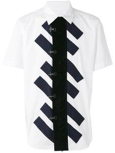 striped centre shirt Ganryu Comme Des Garcons