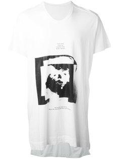 printed motif T-shirt Julius