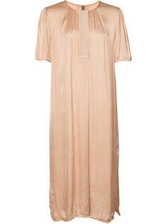 Ribbon Placket Dress Raquel Allegra