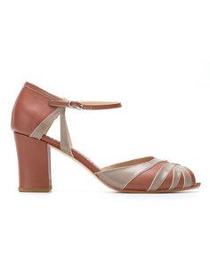 block heel pumps Sarah Chofakian