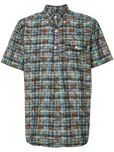 DK Floral Madras short sleeve shirt Engineered Garments