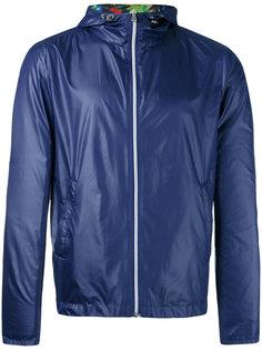 tropical print reversible jacket Fefè