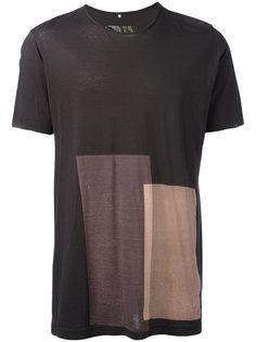 футболка колор-блок  Ziggy Chen