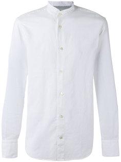 рубашка с узким воротником-стойкой Eleventy