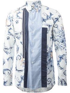 рубашка с цветочным принтом Antonio Marras