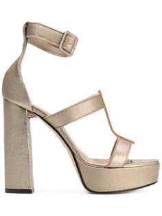ankle strap platform sandals Marc Ellis