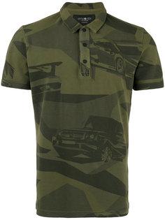 рубашка-поло с камуфляжным рисунком Hydrogen