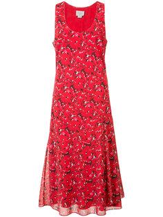 платье с мелким принтом Grey Jason Wu