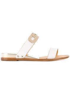 two strap sandals Casadei