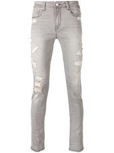 джинсы скинни Stampd