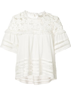 fringe detail blouse Sea