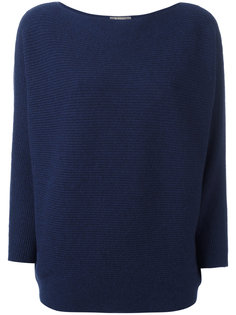 boat neck jumper  N.Peal