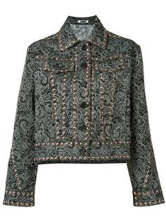 paisley stud jacket  Jourden