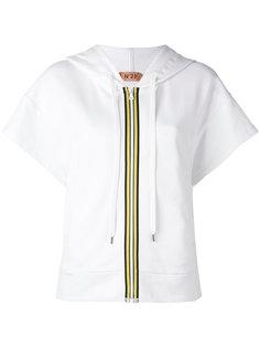 short sleeve zipped hoodie  Nº21