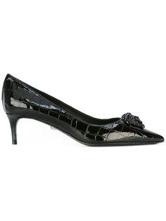 туфли на невысоких каблуках Palazzo  Versace