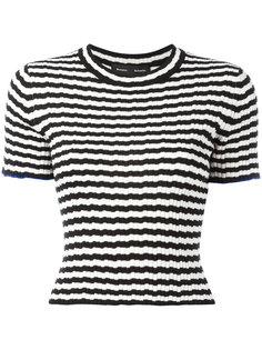футболка в полоску Proenza Schouler
