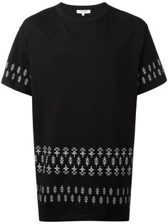 футболка с геометрическим принтом Les Benjamins