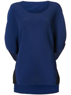 ribbed knit top Issey Miyake